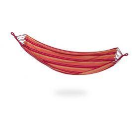 Spokey IPANEMA Houpací síť do 120 kg, červeno-žlutá