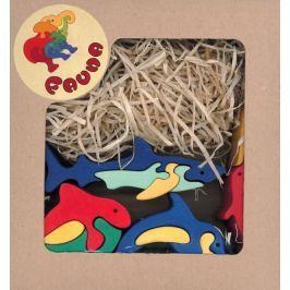 FAUNA Dřevěné puzzle z masivu  V moři (mix)