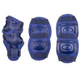 Spokey AEGIS - 3-dílná sada dětských chráničů, tmavě modré, vel. L