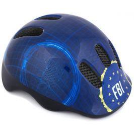 Spokey FBI Dětská cyklistická přilba, 48-52 cm