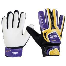 Spokey CATCH II brankářské rukavice žluto-fialové roz. 7