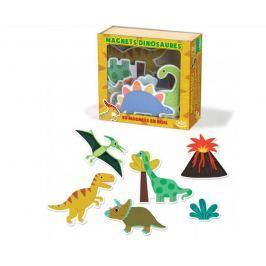 Hračky Vilac - Dřevěné magnetky dinosauři - 20ks - poškozená krabička