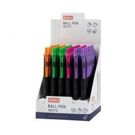 MOLTO Kuličkové pero mix barev, tloušťka 0,7 mm, display 36 ks