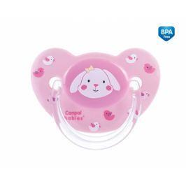 Canpol Babies Dudlík Sweet Fun 18+ C - růžový