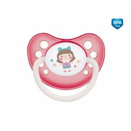 Canpol Babies Dudlík anatomický  6-18m B, Toys -  panenka růžová