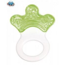 Canpol Babies Kousátko s chrastítkem - LAPKA - zelené