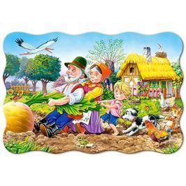 CASTORLAND Podlahové puzzle pro děti 20 dílků O velké řepě