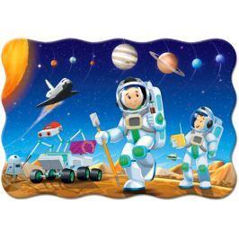 CASTORLAND Podlahové puzzle 02344 Na jiné planetě 20 dílků