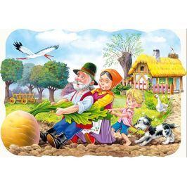 CASTORLAND Dětské puzzle 30 dílků - Pohádka o řepě
