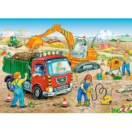 CASTORLAND Dětské puzzle  13180 Stavební práce120 dílků