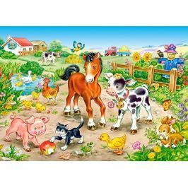 CASTORLAND Dětské puzzle  13197 Na farmě 120 dílků