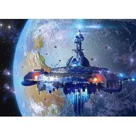 CASTORLAND Dětské puzzle  13272 Mimozemská loď 120 dílků