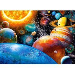 CASTORLAND Puzzle Planety a jejich měsíce 180 dílků