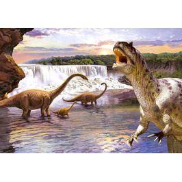 CASTORLAND Dětské puzzle 260 dílků - Dinosauři - Diplodocus