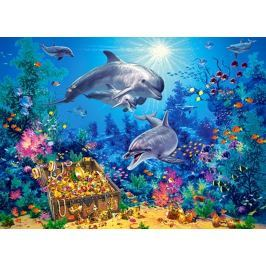 CASTORLAND Puzzle  300 dílků - Delfíní rodinka
