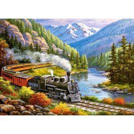 CASTORLAND Puzzle Vlak Eagle River 300 dílků