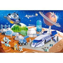 CASTORLAND Podlahové puzzle 040230 Vesmírná stanice 40 dílků