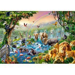 CASTORLAND Puzzle  500 dílků - Řeka v džungli