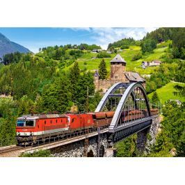 CASTORLAND Puzzle  500 dílků - Vlak na mostě