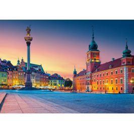 CASTORLAND Puzzle  500 dílků - Zámecké náměstí, Varšava