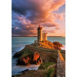 CASTORLAND Puzzle  500 dílků - Maják na pobřeží Francie