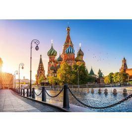 CASTORLAND Puzzle Chrám Vasila Blaženého, Moskva 500 dílků
