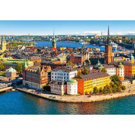CASTORLAND Puzzle Stockholm, Švédsko 500 dílků