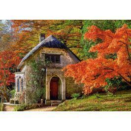 CASTORLAND Puzzle Gotický domek na podzim 500 dílků