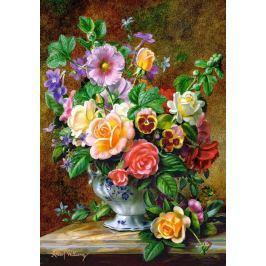 CASTORLAND Puzzle Květiny ve váze 500 dílků