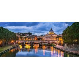 CASTORLAND Panoramatické puzzle Bazilika svatého Petra, Vatikán 600 dílků