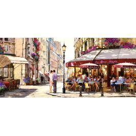 CASTORLAND Panoramatické puzzle Milenci v Paříži 600 dílků