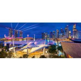 CASTORLAND Panoramatické puzzle Marina Bay, Singapur 600 dílků