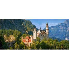 CASTORLAND Panoramatické puzzle Zámek Neuschwanstein, Německo 600 dílků