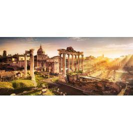 CASTORLAND Panoramatické puzzle Pohled na Forum Romanum 600 dílků