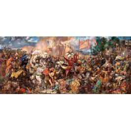 CASTORLAND Panoramatické puzzle Bitva u Grunwaldu 600 dílků