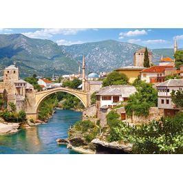 CASTORLAND Puzzle  1000 dílků - Mostar, Bosna a Hercegovina