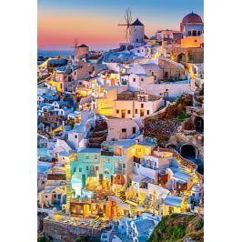 CASTORLAND Puzzle  1000 dílků - Světla v Santorini