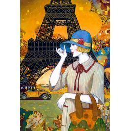 CASTORLAND Puzzle Pařížská ulice 1000 dílků