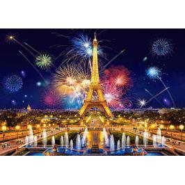 CASTORLAND Puzzle Noční záře nad Paříží 1000 dílků