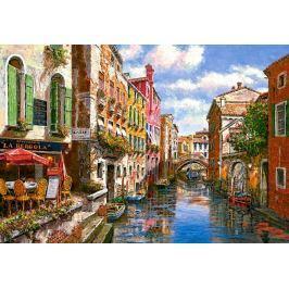 CASTORLAND Puzzle Restaurace La Pergola, Benátky 1500 dílků