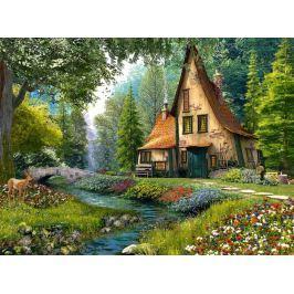 CASTORLAND Puzzle Lesní chata 2000 dílků