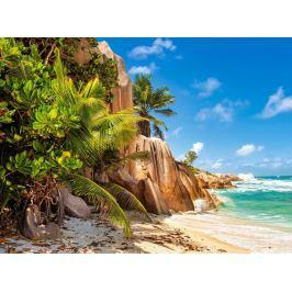 CASTORLAND Puzzle Pláž na Seychelách 2000 dílků
