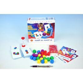 PEXI Paměť 3D společenská hra v krabici 20x18,5x5,5cm