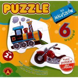 ALEXANDER Puzzle 6v1 Dopravní prostředky 6v1