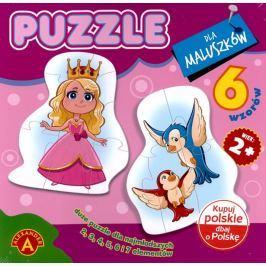 ALEXANDER Puzzle 6v1 Princezna 2-7 dílků