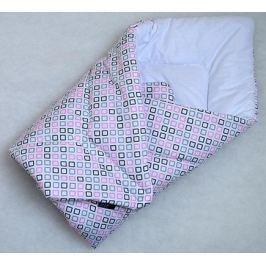 Elfan rychlozavinovačka bavlna - růžové čtverečky