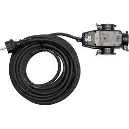 Prodlužovací kabel s gumovou izolací 20m -3zásuvky