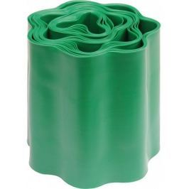 Plastový okraj trávníku v:100mm, d:9m zelený