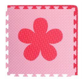 BABY Pěnový  koberec růžová,červená 1 díl