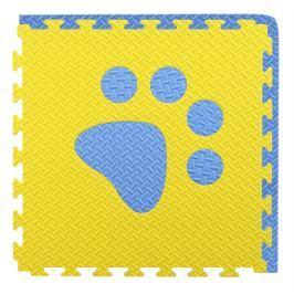 BABY Pěnový  koberec modrá,žlutá 1 díl